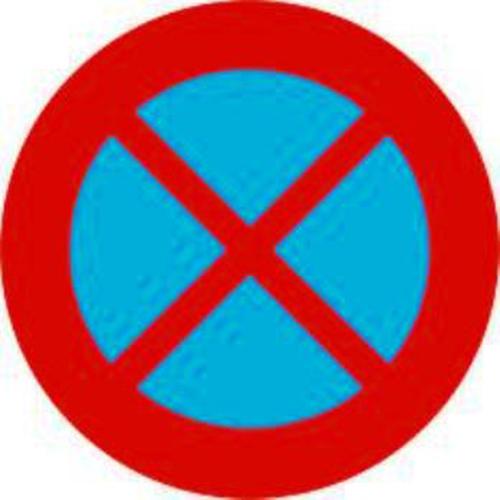 Biển báo hiệu cấm dừng xe và đỗ xe