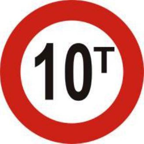 Biển báo hạn chế trọng lượng xe