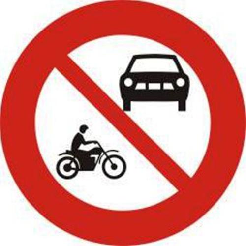 Biển cấm ô tô và mô tô