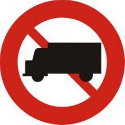 Biển báo cấm ô tô tải