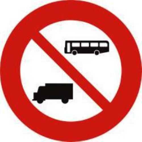 Biển báo cấm ô tô khách và ô tô tải