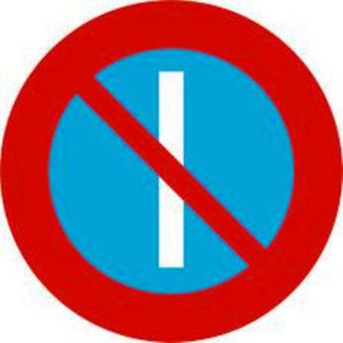 Biển báo cấm đỗ xe ngày lẻ