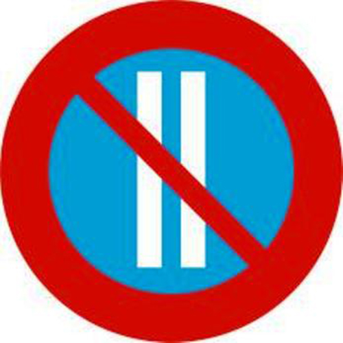 Biển báo cấm đỗ xe ngày chẵn