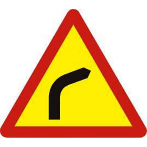 Biển báo chỗ ngoặt nguy hiểm vòng bên phải