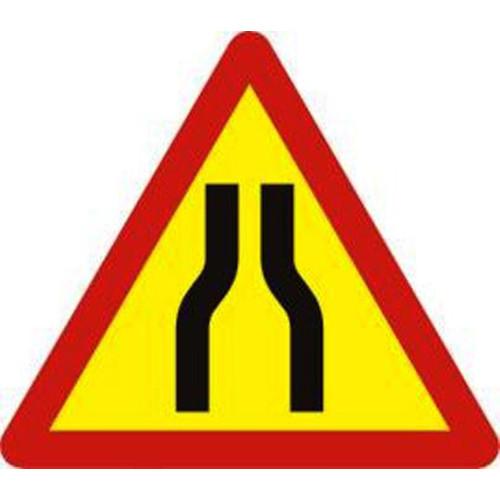 Biển báo nguy hiểm đường bị hẹp