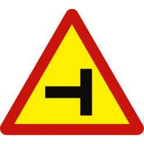 Biển báo hiệu giao thông báo nguy hiểm W.205c đường giao nhau