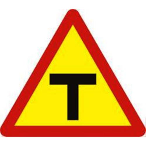 Biển báo hiệu giao thông báo nguy hiểm W.205d đường giao nhau