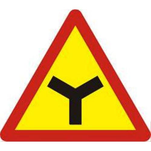 Biển báo hiệu giao thông báo nguy hiểm W.205e đường giao nhau