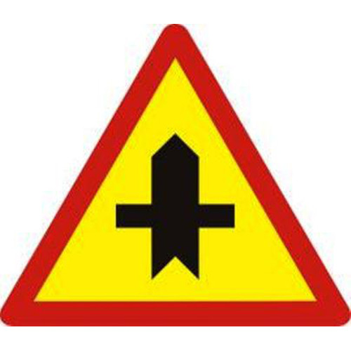 Biển báo hiệu giao nhau với đường không ưu tiên - W.207a