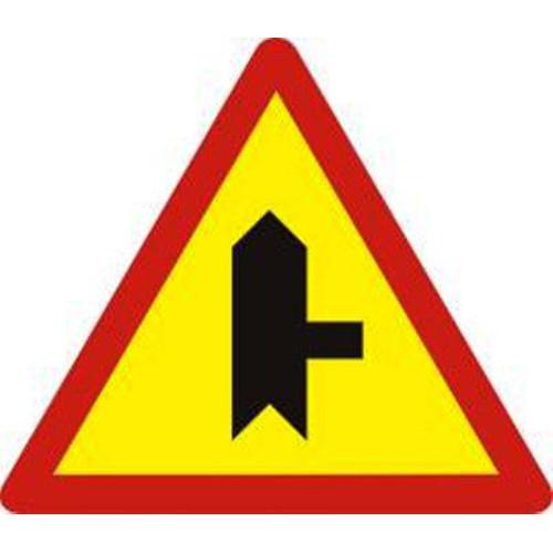 Biển báo hiệu giao nhau với đường không ưu tiên - W.207b