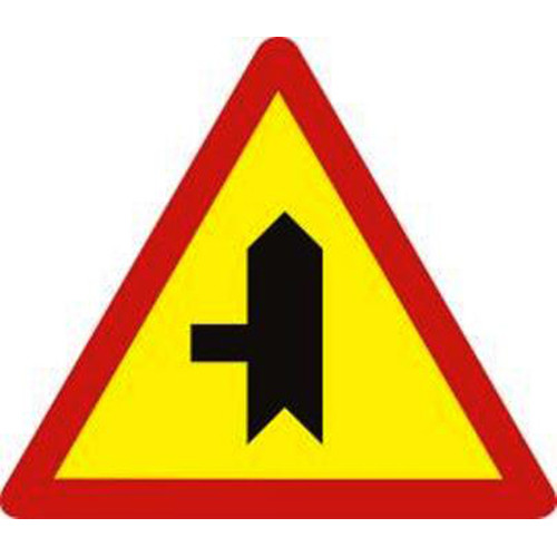 Biển báo hiệu giao nhau với đường không ưu tiên - W.207c
