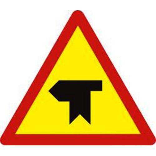 Biển báo hiệu giao nhau với đường không ưu tiên - W.207g