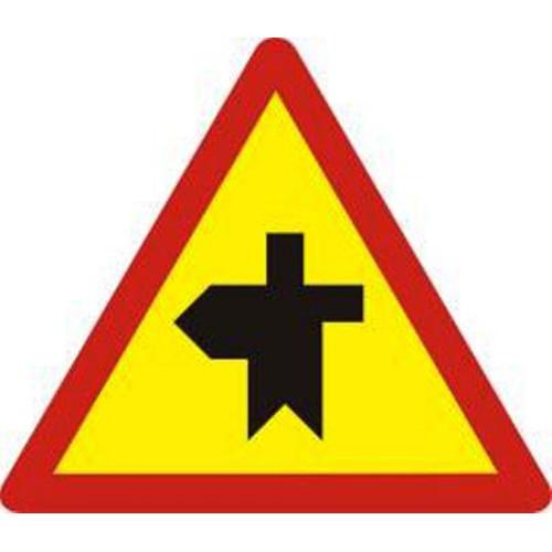 Biển báo hiệu giao nhau với đường không ưu tiên - W.207h