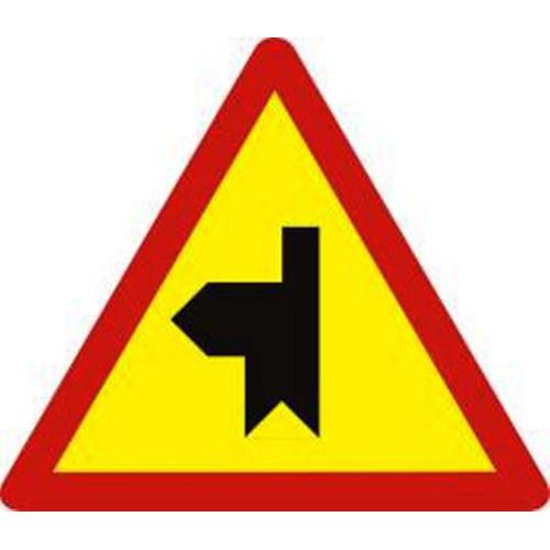 Biển báo hiệu giao nhau với đường không ưu tiên - W.207i