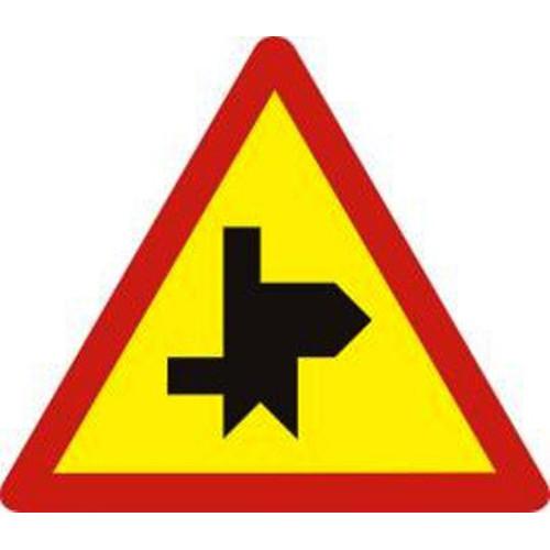 Biển báo hiệu giao nhau với đường không ưu tiên - W.207k