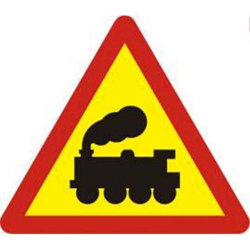 Biển báo giao nhau với đường sắt không có rào chắn (W.211a)