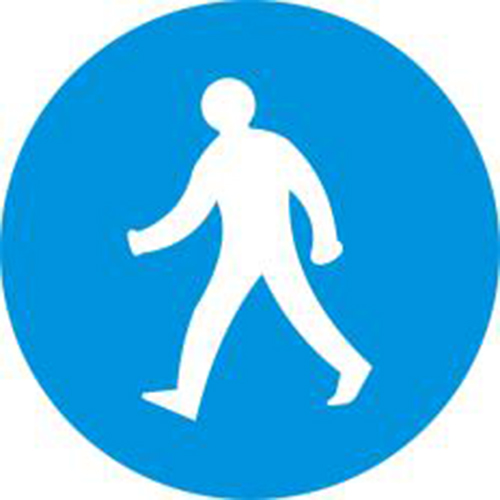 Biển báo đường dành cho người đi bộ