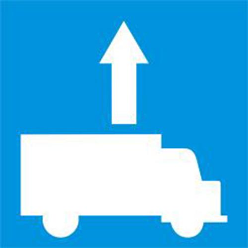 Biển báo làn đường dành cho ôtô tải