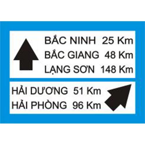Biển báo chỉ hướng đường R.414c