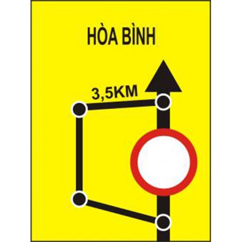 Biển báo lối đi đường vòng tránh